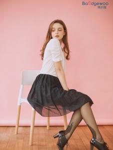 阪织屋家居服新品黑色性感丝袜