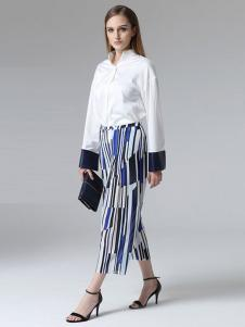 ELLE女装秋冬新品白衬衫