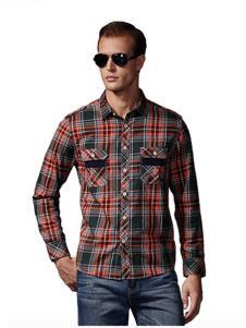 福特男装格纹衬衫