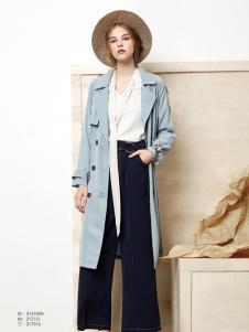 丽芮时尚长款外套