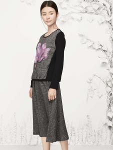 丽比多灰色半裙