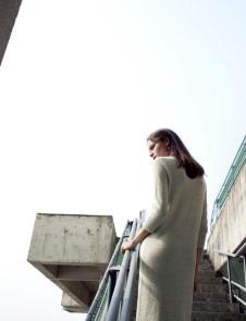 AITU艾托奥2017年春夏新品毛衣连衣裙