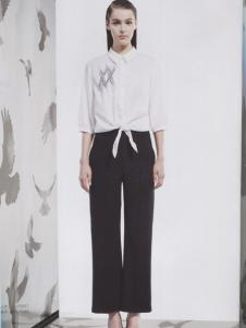 阿莱贝琳白色休闲衬衫