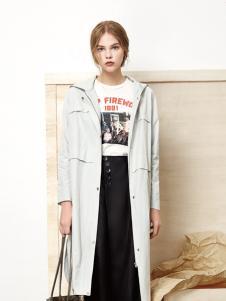 丽芮时尚春夏新款风衣外套