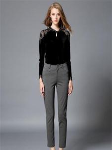 吸引力女装吸引力女装新品灰色休闲裤