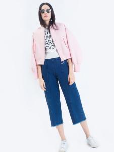 LOFTSHINE女装新品粉色休闲外套