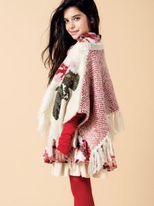 芭乐兔女童冬新款个性外套