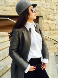 玛斯卓拉女装玛斯卓拉时尚大衣外套新款