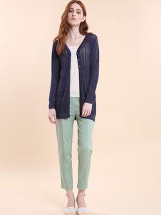 雅意娜菲女装新品针织薄衫