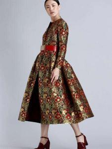 AVRALA奥柔拉女装民族风连衣裙