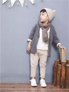 童领男童装棉麻韩版中长款棉服外套