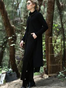 ALSCANA女装新品黑色外套