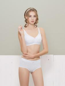 柔淇时尚白色少女内衣