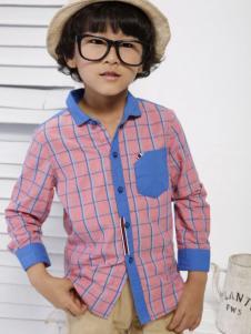Coobile酷比乐童装格纹衬衫