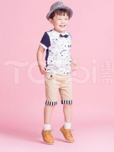 TOPBI淘帝童装男童可爱T恤