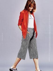 兰卡芙17春新款小外套