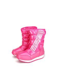 卡丁童鞋新品加绒保暖雪地靴