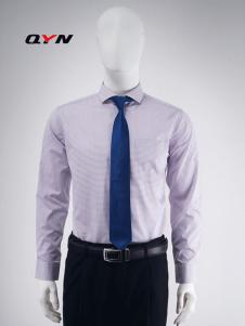秋意浓纯棉红白格子阳光衬衫RM08101058合体版
