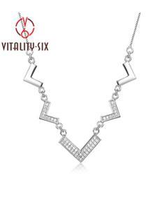 V6银饰项链