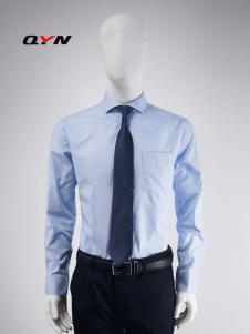 秋意浓纯棉水蓝色文艺衬衫RM08101061合体版