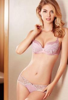 E-BRA精品系列之粉色妩媚无钢圈文胸