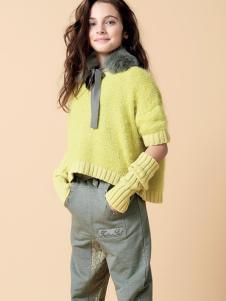 芭乐兔女童冬新款时尚毛衣