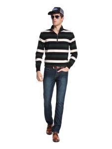 福特男装条纹长袖T