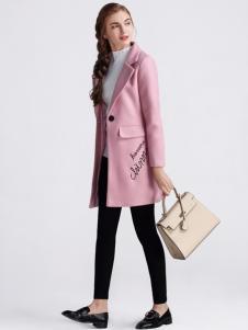 淑女日记女士修身大衣