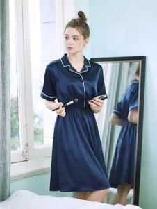 阪织屋家居服新品丝质睡裙