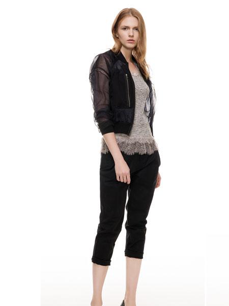 主提黑色时尚外套新品