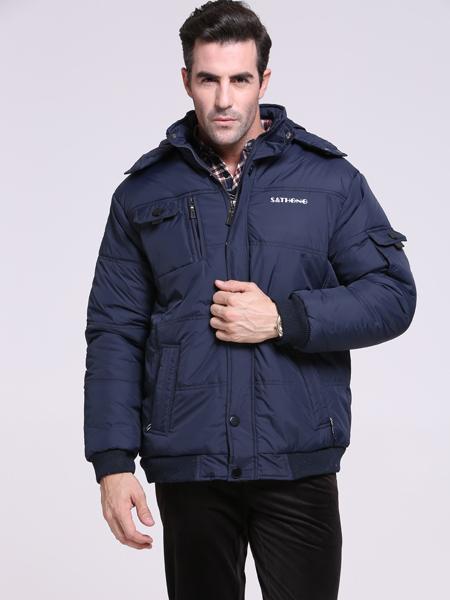 圣天虹新款男士智能保暖夹克