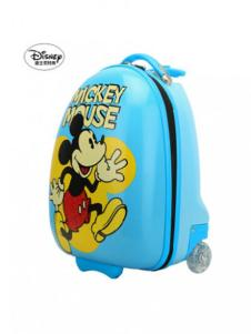 迪士尼箱包米奇印花蓝色拉杆行李箱