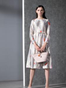 乔帛女装2017春季连衣裙