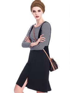 知彩17春季新款套装裙
