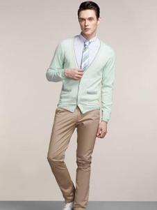 BENBO宾宝男装纯色针织外衫