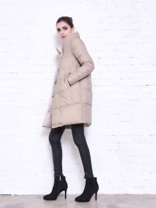 艾诺绮女装冬季羽绒服新款