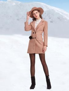丹妮丽人时尚长款大衣