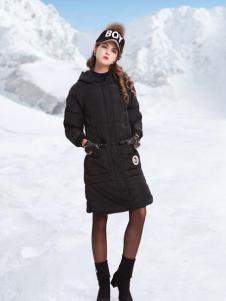 丹妮丽人女装冬季羽绒服