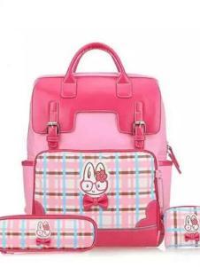 贝妮兔箱包系列粉色卡通双肩包