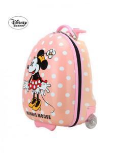 迪士尼箱包迷你印花粉色拉杆箱