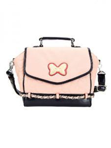 迪士尼箱包粉色斜挎包