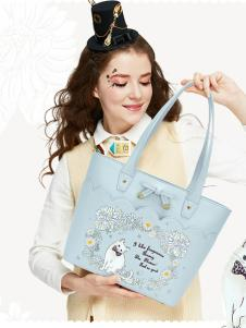 ARTMI女包蓝色浪漫手提包