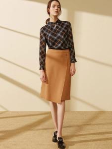 迪赛尼斯女装不规则条纹衬衫
