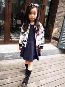 布衣草人童装女童休闲外套