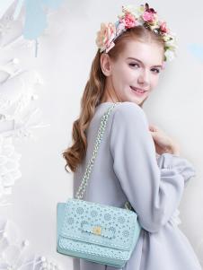 Artmi箱包ARTMI女包蓝色卡通单肩包