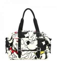 迪士尼箱包米奇印花手提包