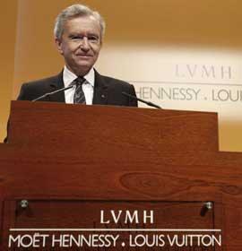 LVMH三季度表现糟糕 分析师悲观