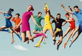 运动服饰品牌向快时尚学习
