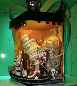 盘点纽约街头5大高科技圣诞橱窗