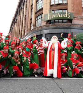 哈罗德百货2013圣诞 带您走入梦幻仙境